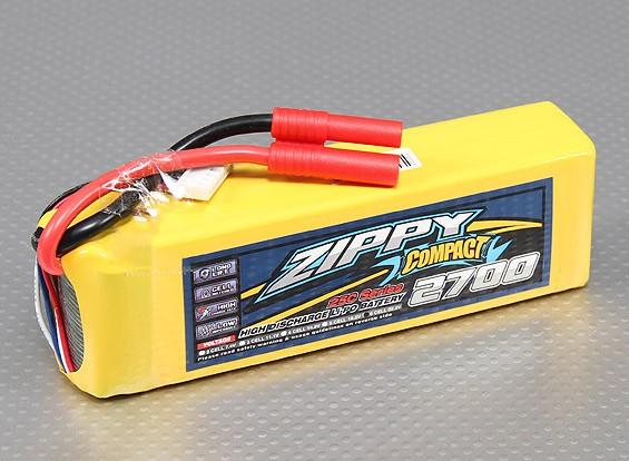 ZIPPY紧凑2700mAh 6S 25C前列包