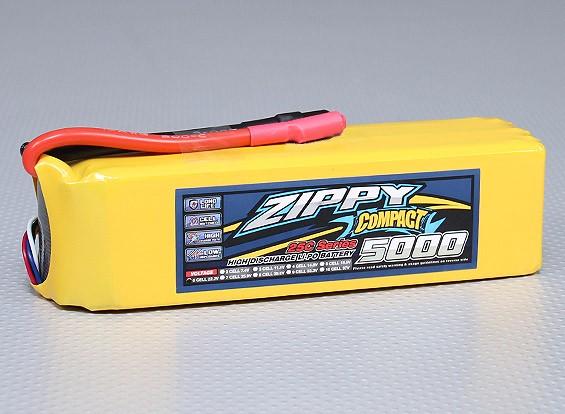ZIPPY紧凑型5000mAh的6S 25C前列包