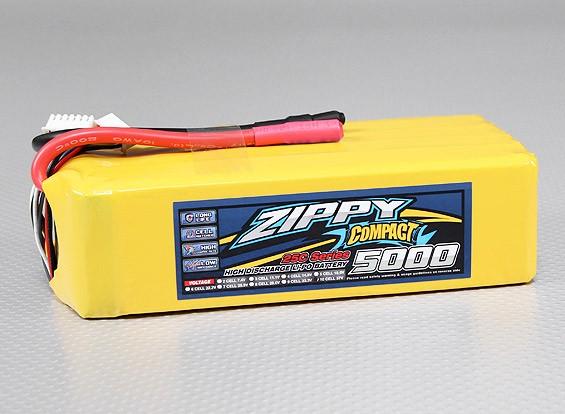 ZIPPY紧凑型5000mAh的10S 25C前列包