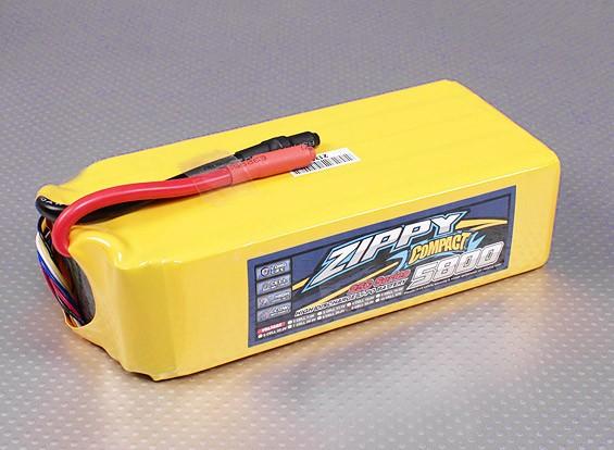 ZIPPY紧凑型5800mAh的9S 25C前列包