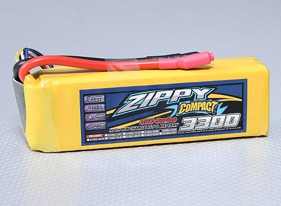 ZIPPY紧凑型3300mAh的5S 35C前列包