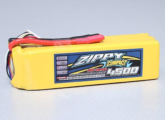 ZIPPY紧凑型4500mAh的6S 35C前列包