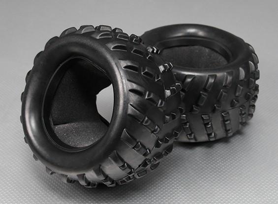 轮胎W /插入 -  Turnigy泰坦1/5(2件/袋)