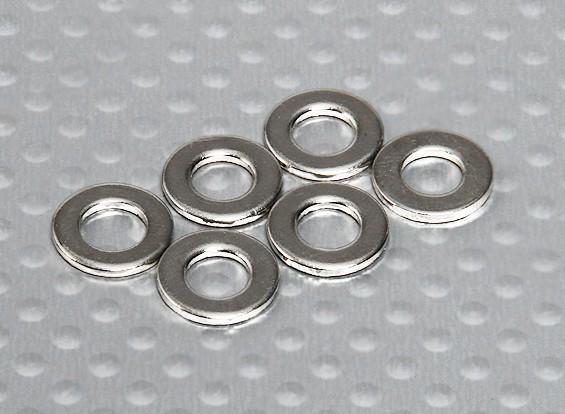 韦宗洗衣机(12x5.1x1mm) -  Turnigy泰坦1/5(6支/袋)