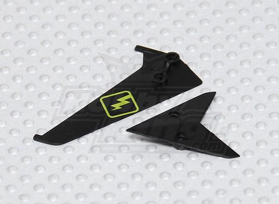 微Spycam直升机 - 更换尾鳍