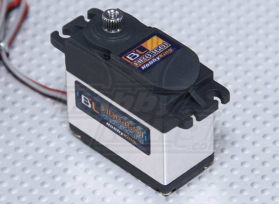 HobbyKing™BL-83601数字无刷HV / MG14.5公斤/ 0.13sec /56克
