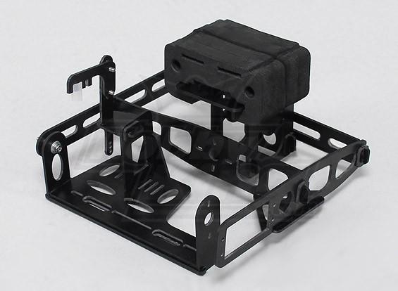Hobbyking Y650蝎子玻璃纤维平移/倾斜摄像机架