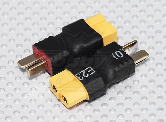 T型连接到XT60电池适配器铅(2PC)