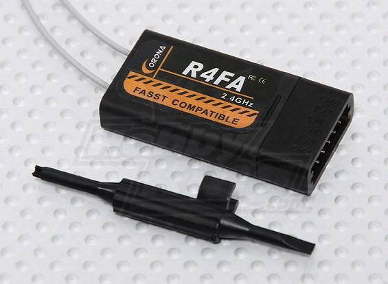 科罗纳R4FA 2.4GHz的FASST兼容的接收机