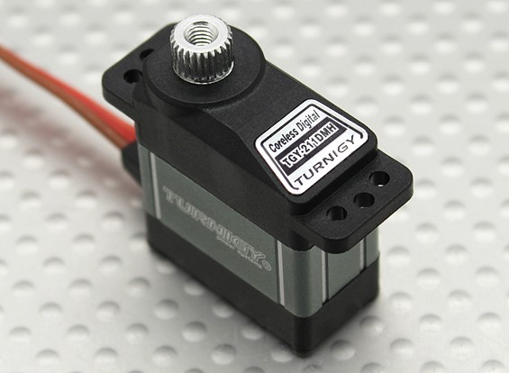 Turnigy™TGY-211DMH无芯瓦特/散热器DS / MG2.3公斤/ 0.10sec /16克