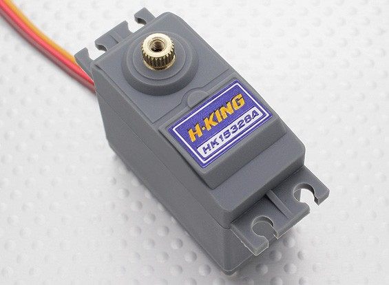 HobbyKing™HK15328A模拟伺服BB / MG12.8公斤/ 0.20sec /58克