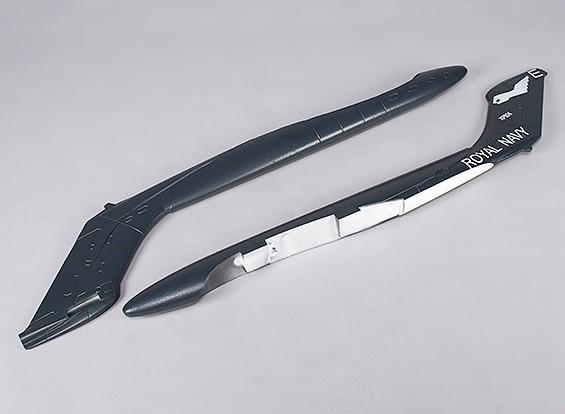 Durafly™千毫米海雌狐 - 更换尾管(1对)