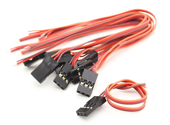 JR类型:公伺服铅26AWG 15CM(10片装)