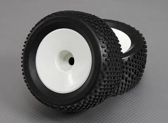 1/8越野车3.4(偏移)车轮/轮胎17毫米六角(2件/袋)