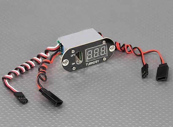 Turnigy 3功能CDI远程主 - 电压显示 - 接收器的开关(不BEC)