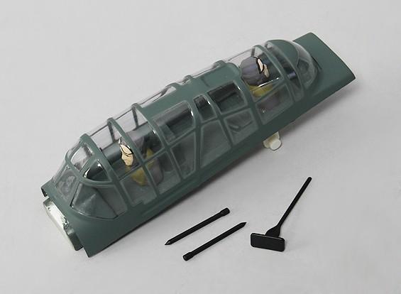 Durafly™1100毫米斯图卡 - 更换雨棚(含驾驶员)
