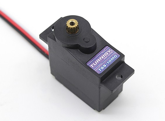 Turnigy™TSS-10HM DS微型伺服2.2公斤/ 0.12sec / 10G