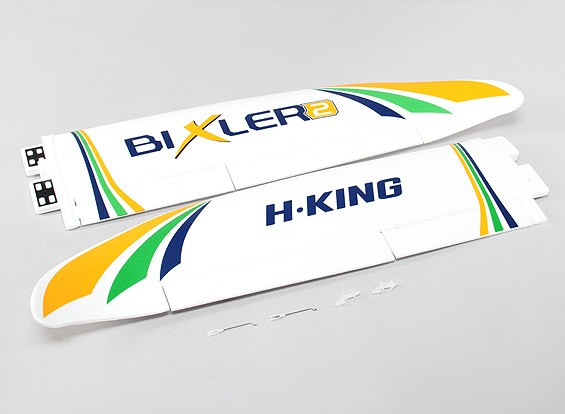 Hobbyking比克斯勒2 EPO1500毫米 - 更换主翼