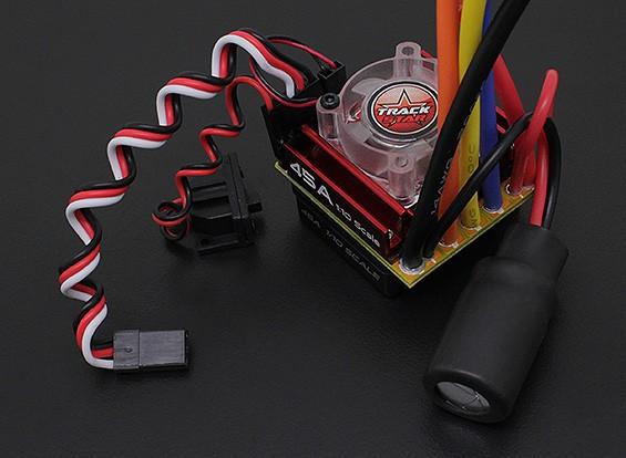 Turnigy TrackStar 1/10 45A传感器租车Esc键