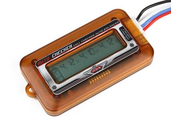 Turnigy DLUX锂聚合物电池电池显示和平衡器(2S〜6S)