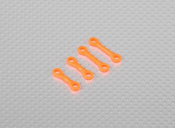 旋翼头固定长度为联动尺寸450直升机(4支/袋) - 橙色