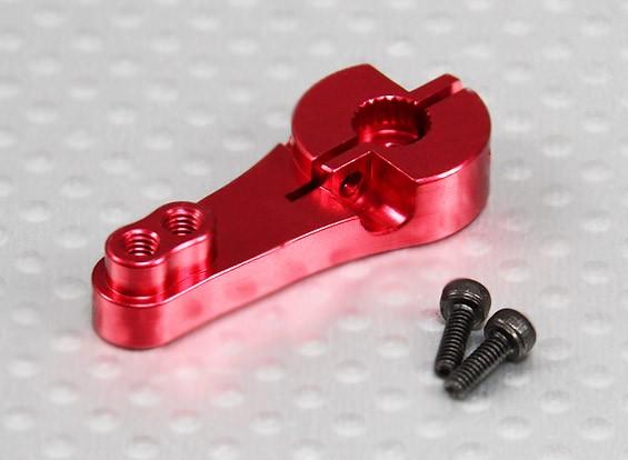 重型25T铝伺服臂 - 双叶(红)