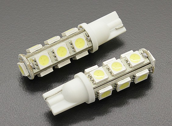 LED玉米灯12V 2.6W(13 LED) - 白(2个)