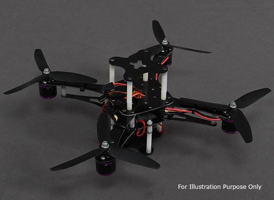 X230迷你四轴飞行器组合(W /电机,电调,螺旋桨)