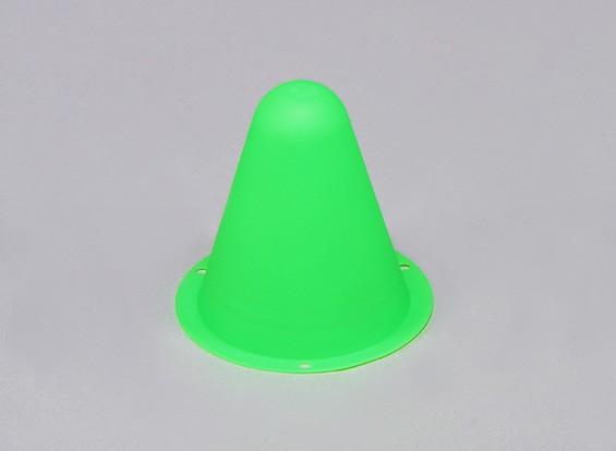 塑料锥赛车的R / C车跑道或漂移场 - 格林(10片/袋)