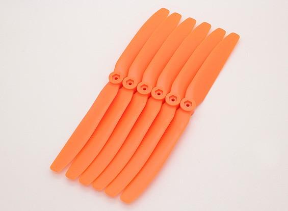 GWS EP螺旋桨(DD-8040 203x102mm)橙色(6件/套)