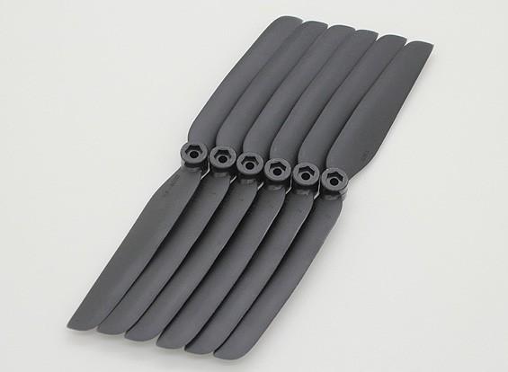 GWS EP螺旋桨(DD-6030 152x76mm)黑(6件/套)
