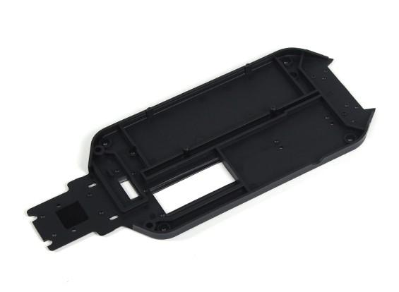 塑料机箱的钢板 -  1/10 Quanum防暴四轮驱动赛车越野车