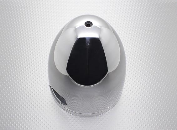 """4.5""""(114毫米)Warbird规模合金微调预钻为50cc的汽油发动机(抛光)"""