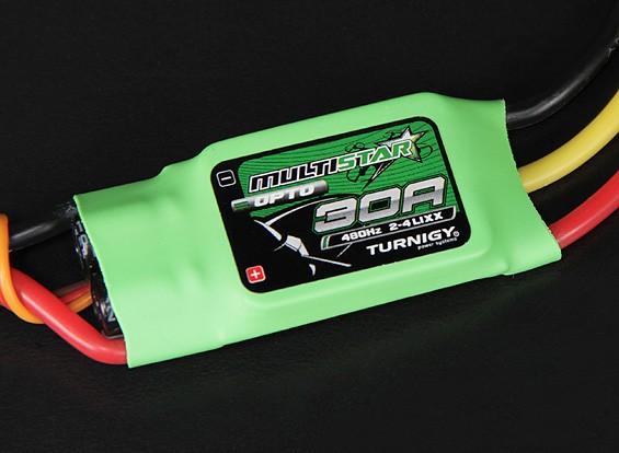 Turnigy多星30安培多旋翼飞行器无刷电调2-4S(OPTO)