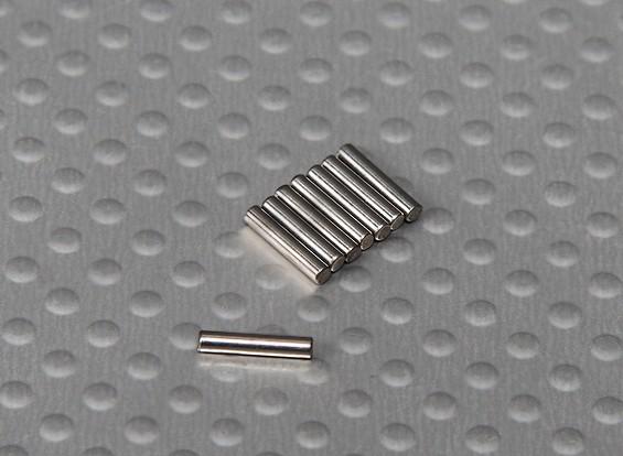 引脚(8x2mm)1/10 Turnigy球场国王2WD Truggy(8只/袋)