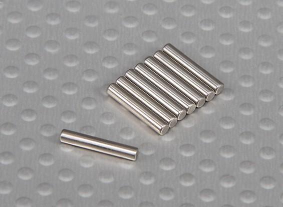 引脚(12x2mm)1/10 Turnigy球场国王2WD Truggy(8只/袋)