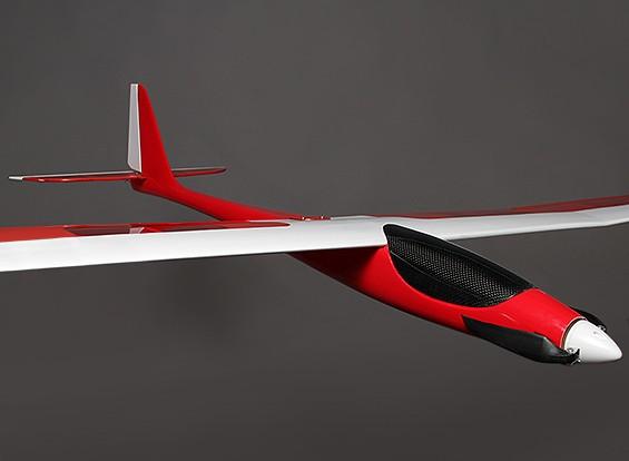 蜻蜓1800 EP复合滑翔机W /电机1800毫米(ARF)