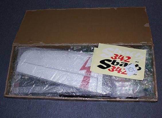 SCRATCH / DENT Sbach 342 20cc的档案气体3D1659毫米(ARF)