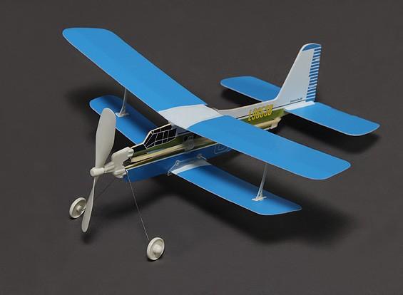 橡皮筋动力Freeflight安东诺夫AN-2M386毫米跨度