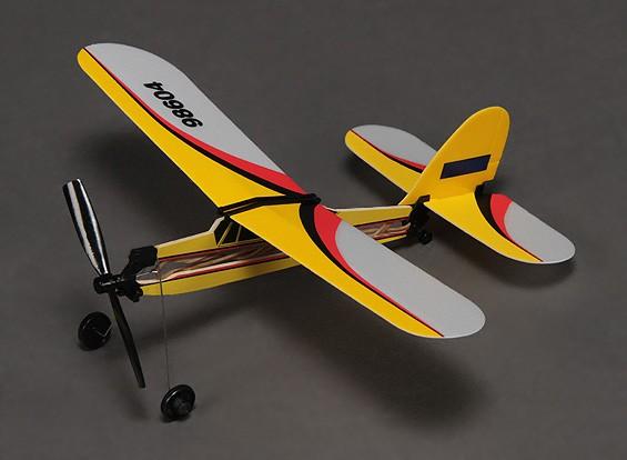 橡皮筋动力Freeflight超级小狗292毫米跨度
