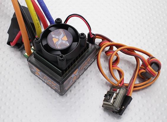 Hobbyking®的X车120A无刷汽车ESC(带传感器/传感器)