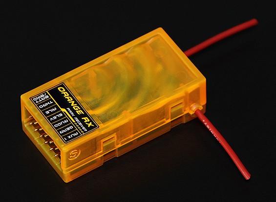 OrangeRx R615 DSM2兼容6CH的2.4GHz接收器