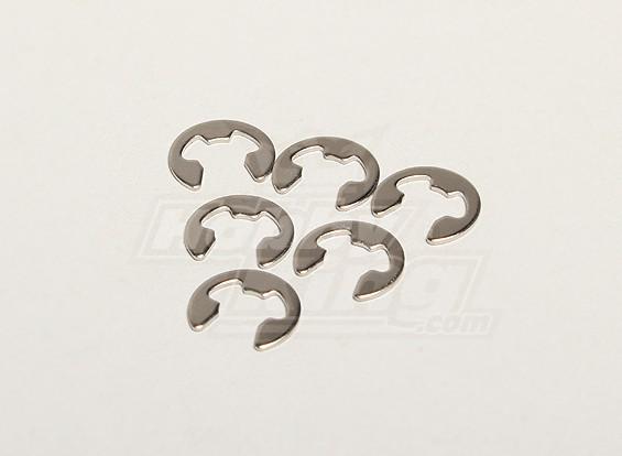E型夹片F5(6件) -  Turnigy泰坦1/5和雷霆1/5
