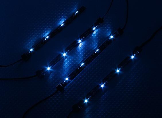7 RC模式汽车底盘照明系统(蓝色)
