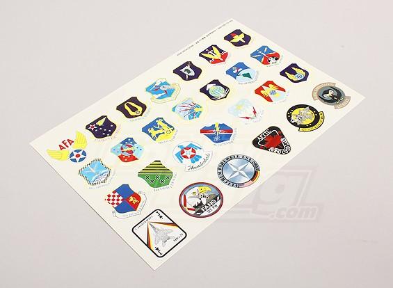 中队/空军司令部各种徽章