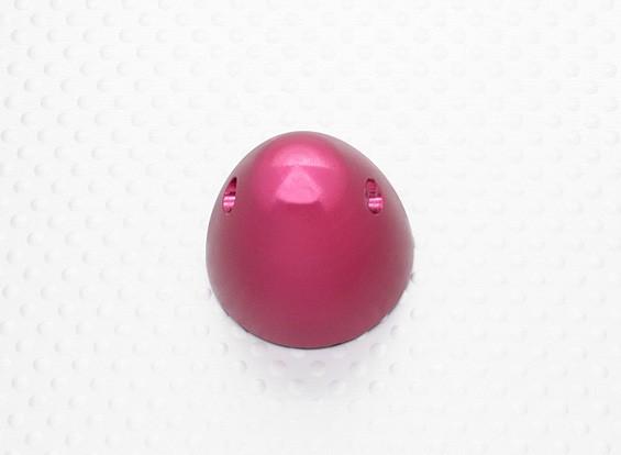 30毫米铝微调道具螺母M5x0.8(阳极化处理的红色完成)