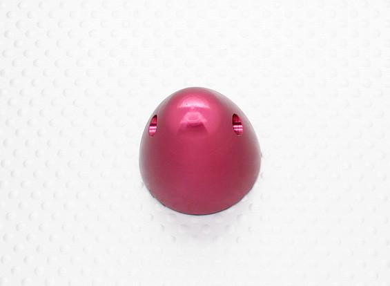 30毫米铝微调道具螺母M7x1.0(阳极化处理的红色完成)