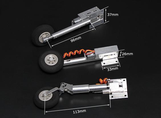 Turnigy全金属Servoless与退刀腿奥莱奥(三轮车,F86型)