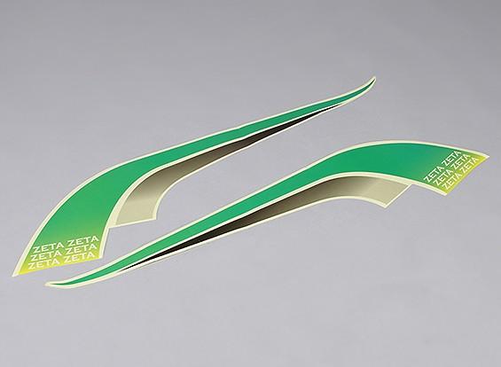 幻影FPV飞翼V1和V21550毫米 - 集贴花