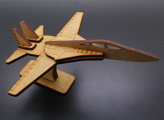军用喷气式飞机激光切割木模型(KIT)